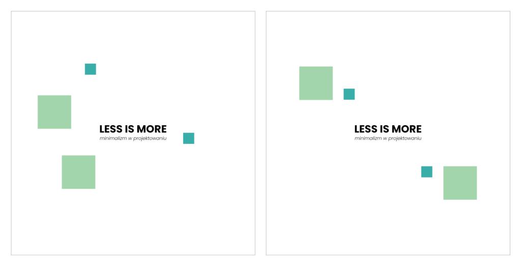 Minimalizm wprojektowaniu_balans