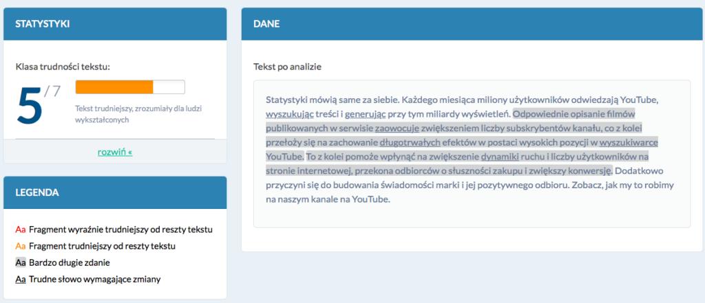 Zrzut ekranu_Jasnopis_teksty, które sprzedają