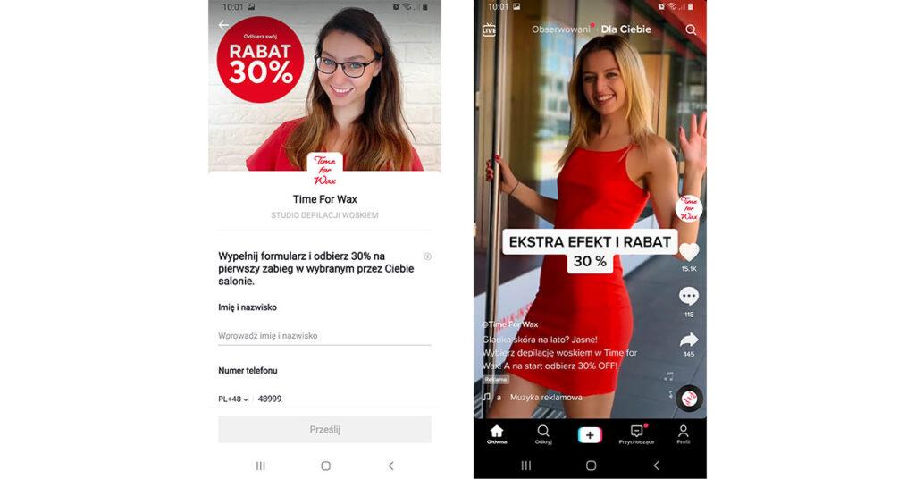 Reklama naTikToku_formularz kontaktowy