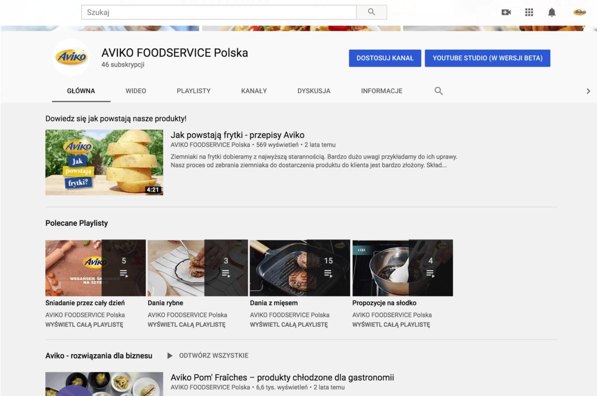 Dostosowanie kanału. Widok i ułożenie playlist mają znaczenie na utrzymaniu użytkownika na kanale.