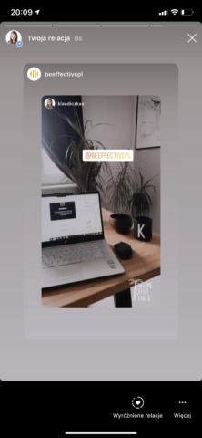Repostowanie repostów_konto firmowe naInstagramie