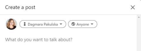 Posty na LinkedIn