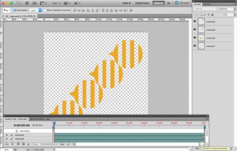 Tworzenie GIFa w programie Photoshop