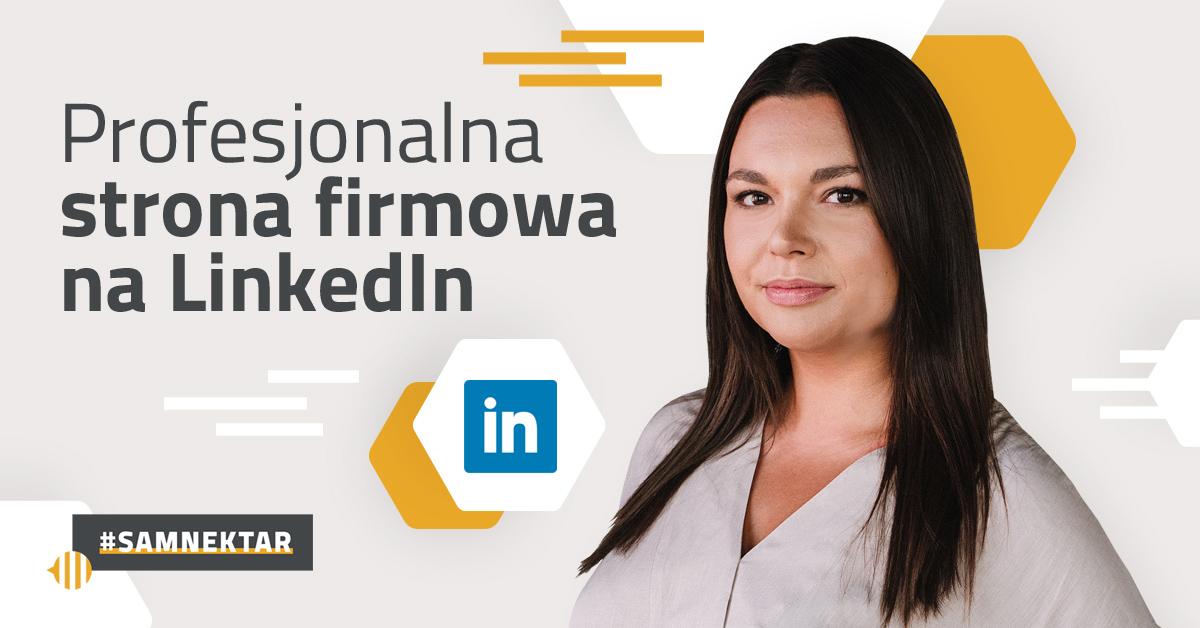 Profesjonalna strona firmowa na LinkedIn