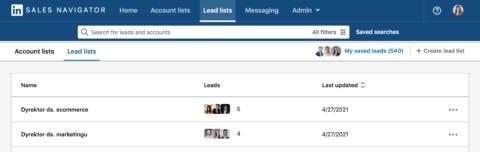Lista leadów_Sales Navigator