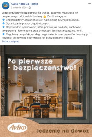 Komunikacja B2B_branża gastronomiczna
